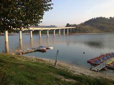 Ponte sul lago di castreccioni