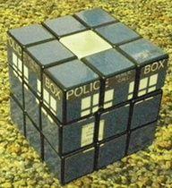 Tardis Rubix Cube - how cool!