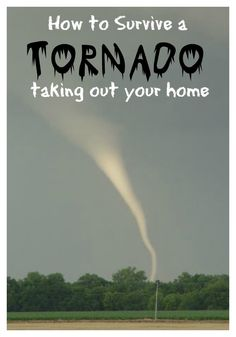 How to be prepared if you lose your home in a tornado or hurricane. Don't delay, plan NOW and stay safe! The Homesteading Hippy