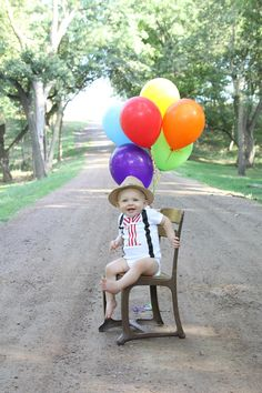 """First Birthday Onesie Baby Boy """"1"""" Red and White Striped Carnival Circus Party Little Man. $21.50, via Etsy."""