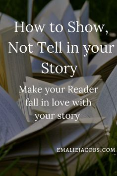 How to Write a Novel, Show Don't Tell, Novel Writing Advice Creative Writing Tips, Book Writing Tips, Writing Words, Writing Quotes, Writing Resources, Writing Help, Writing Skills, Writing Prompts, Writing Worksheets