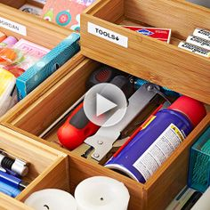 Problem Spot: Junk Drawer: Confession time: What's your junk drawer look like? Professional organizers say it's good to have one. It's a catchall for all those little necessities that just don't seem to have a logical home. So here's the secret to keeping it organized.