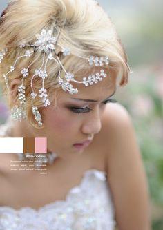 White Goddess #makeup #elegant #beauty