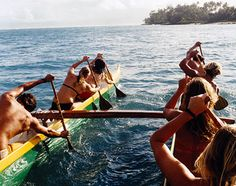 #EcoOla loves outrigger canoeing!