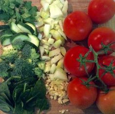 Italian Stew - this recipe gets its name not so much from the flavours, but from the ingredients. Red tomatoes, white onions and garlic, green zucchini, spinach, broccoli and parsley, it is the flag in a bowl.  This stew is warming, can be enjoyed with rice, pasta, quinoa or crusty bread and is as nourishing as it is delicious.