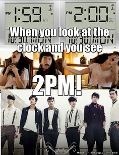 2PM...lol I remember that vid of Wooyoung