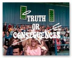 truth or consequences black personals Hayes's poems describe the black body—both fetishized and criminalized  personal poems about hayes's father and the consequences of being abandoned by him  lies and truth in the era.