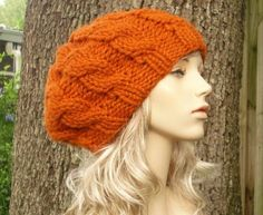 Free Knifty Knitting Loom Patterns | ... pattern for knitting a beret (slouchy) type hat on my Knifty Knitters