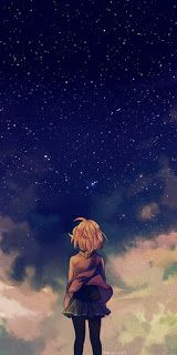 Scenery Anime : Kyoukai No Kanata Chara : Kuriyama Mirai Anime Android Wallpaper, Iphone 8 Wallpaper, Girl Wallpaper, Wallpapers Ipad, Unique Wallpaper, Couple Wallpaper, Iphone Backgrounds, Android Art, Night Sky Wallpaper