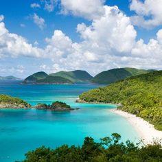 Best Beaches in the Caribbean: Trunk Bay, St. John, USVI