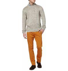 B StoreBaracuda Panel Pocket Linen Sweater, b-store shirt, Acne trousers and Bottega Veneta shoes.  all from|MR PORTER