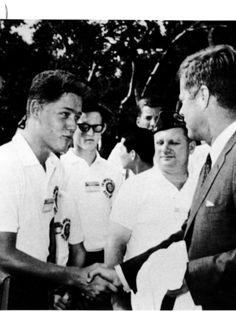 Clinton meeting Kennedy