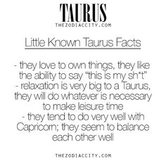 Taurus/Capricorn
