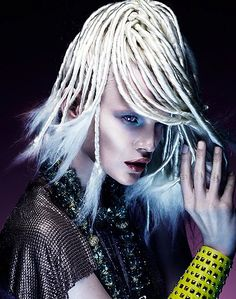 Hair: Kevin Kahan  Make: Victoria Baron  Fashion: Desiree Lederer  Photo: Andrew O'Toole