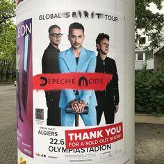 Hier gibt es sogar noch Plakate zur #GlobalSpiritTour von #DepecheMode in #Berlin