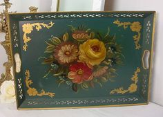 Toleware - Painted Tole Tray
