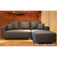 Decenni Custom Furniture Compact Romeo Sectional | Overstock.com