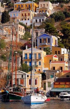 Cruising in the Dodecanese ? Do ~ Symi Island, Greece