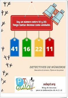 Primary Maths, Primary School, Detective, Letters, Control, Ideas, Even And Odd, Riddles, Frases