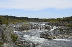 Kathryn D. Photo Blog - Blog. Kayakers on the bottom right corner. They kayak the rapids at Great Falls Park.. AMAZING.