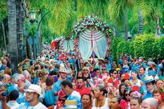 Gay Pride, the religious celebrations of Holy Week, the pilgrimage and fair of San Miguel, and the fair of the Virgen del Carmen are annual great events Costa, Spain Tourism, Tourism Website, Holy Week, Montpellier, Pilgrimage, Tour Guide, Brave, Fair Grounds