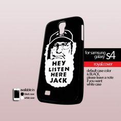 Duck Dynasty Hey Listen Here Jack - Print On Hard Case For Samsung Galaxy S4 i9500