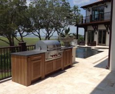 Nature Kast - outdoor kitchen cabinetry