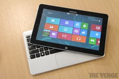 Samsung Series 5 and 7 Slates: one part tablet, one part laptop, all Windows 8 | The Verge