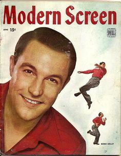 Modern screen magazine June 1946 Gene Kelly cover.