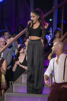 Ariana Grande Updates — UHQ PHOTOS: Ariana performing 'Boys Like You' on...