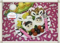 Twitter from @Karenwee's Bento Diary Dinner Easter Bunny kyaraben #obentoart @ http://kwbentodiary.blogspot.com/2013/03/bentomarch27aeaster-bunny-iii.html?m=1 …