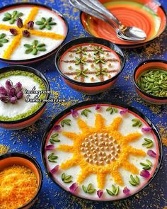 Iranian Dishes, Iranian Cuisine, Persian Desserts, Afghan Food Recipes, Moroccan Vegetables, Iran Food, Middle East Food, Food Garnishes, Exotic Food