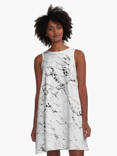 Cramped paper pattern white a-line dress - Also Available as T-Shirts & Hoodies, Men's Apparels, Women's #Apparels, Stickers, iPhone Cases, Samsung Galaxy Cases, Posters, Home Decors, Tote Bags, Pouches, Prints, Cards, Mini Skirts, Scarves, iPad Cases, Laptop Skins, Drawstring Bags, Laptop Sleeves, and Stationeries #stylish #design #fashion #designer #clothing #style #accessories