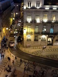 Lisbon, Largo do Chiado. Taken from our hostel's window. #greatlocation