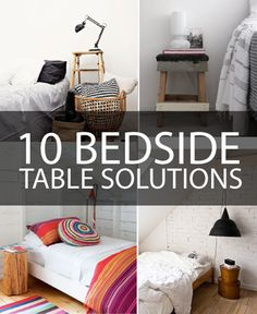 Inspiration for Bedroom Decor-Good ideas!