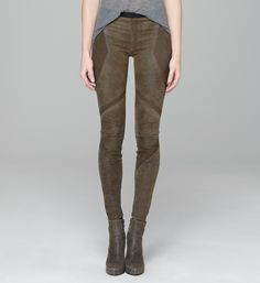 Helmut Lang -leather leggings