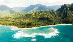 T+L Kauai Tunnels Beach