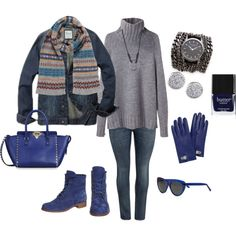 """Relaxed Weekend / Plus Style"" by terry-tlc on Polyvore"
