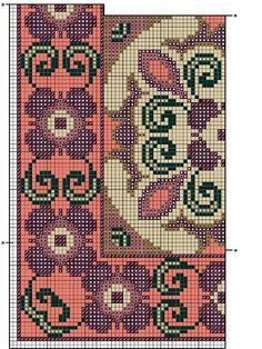 Thrilling Designing Your Own Cross Stitch Embroidery Patterns Ideas. Exhilarating Designing Your Own Cross Stitch Embroidery Patterns Ideas. Cross Stitch Pillow, Cross Stitch Borders, Cross Stitch Designs, Cross Stitching, Cross Stitch Embroidery, Cross Stitch Patterns, Needlepoint Patterns, Embroidery Patterns, Tapete Floral