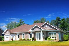 Beautiful One-Story Bungalow House with Two Attached Garage Royalty Free Pictures, Royalty Free Stock Photos, Web Creation, Property Rights, Attached Garage, First Story, Beautiful One, Image Photography, Bungalow