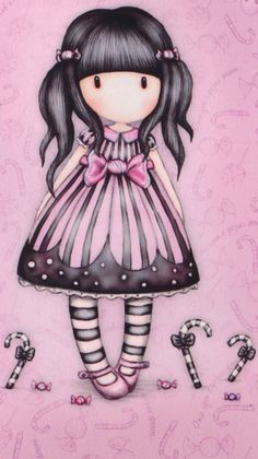 ‿✿..GORJUSS..✿‿ Cute Images, Cute Pictures, Decoupage, Fantasy Paintings, Cute Cartoon Wallpapers, Cute Little Girls, Doll Face, Cute Drawings, Paper Dolls