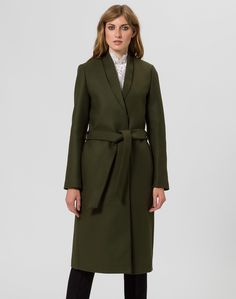 IVY & OAK Mantel 'Double Collar Coat' in grün bei ABOUT YOU bestellen. ✓Versandkostenfrei ✓Zahlung auf Rechnung ✓kostenlose Retoure