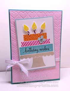 Happy Birthday to …. Me!  No it's not my birthday but it is my Stampaversary! I celebrate 9 years with Stampin' Up! today. Check my blog for my birthday specials!