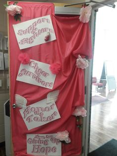 Door Decorating Contest at work   Beat Breast Cancer ...