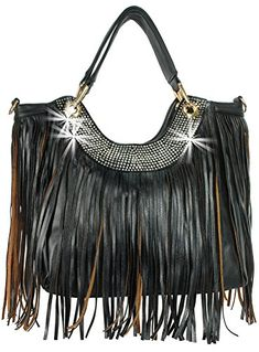 Rhinestone Bling Fringed Womens Handbag Sparkling Ladies Purse >>> You can find out more details at the link of the image.
