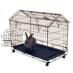 """Kennel-aire """"A"""" Frame Bunny House, 29.5""""L x 16.5""""W x 24""""H #KennelAire"""
