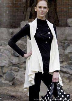 túnica de costura