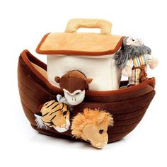 Noah's Ark Finger Puppet Set