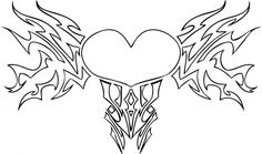 Hearts With Wings Coloring Pages Free Online Printable Sheets For Kids Get The Latest Images