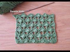 Video Narrated Crochet Shell Strickmodell – My Strictmuster Crochet Shell Pattern, Crochet Motifs, Free Crochet, Knit Crochet, Crotchet Stitches, Knitting Stitches, Knitting Patterns, Crochet Patterns, Knitting Videos